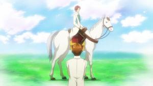 白馬に乗った四季斗真