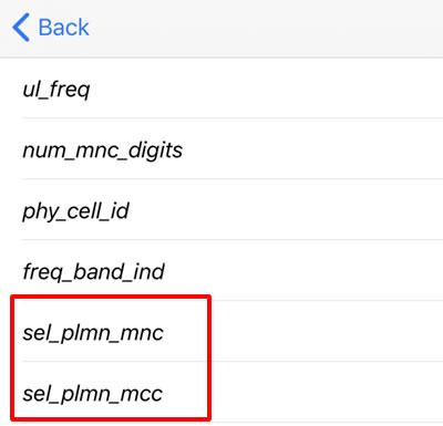 「sel_plmn_mcc」と「sel_plmn_mnc」の番号を確認