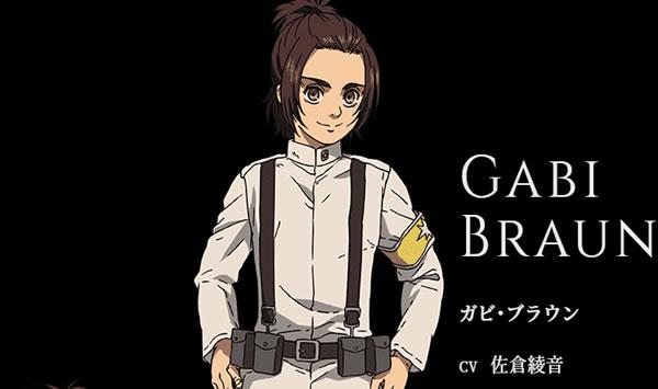 【進撃の巨人】ガビブラウンの声優・佐倉綾音の代表作アニメキャラ