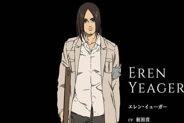 【進撃の巨人】エレン声優・梶裕貴のキャラ一覧!コナンやワンピースは?